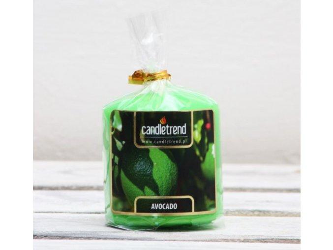 Svíčka válec Avocado 5,5 cm