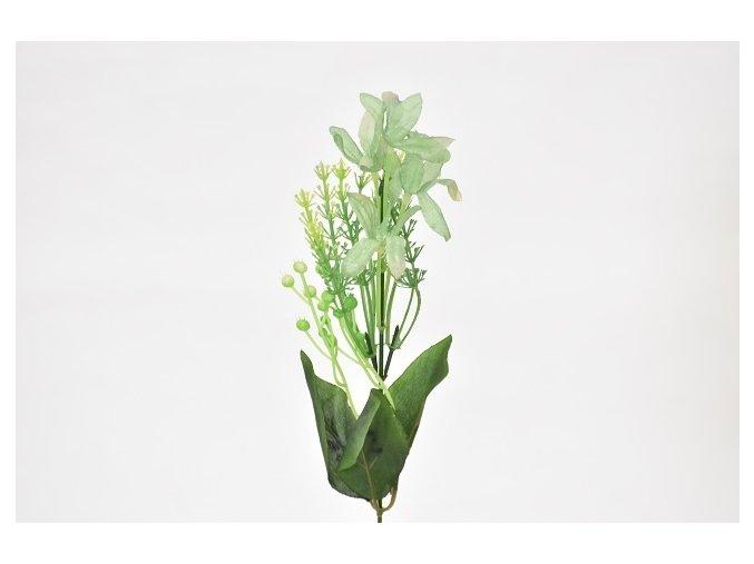 Umělá květina kopretina zelená