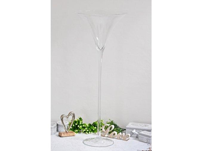 Skleněný pohár Martini 90 cm