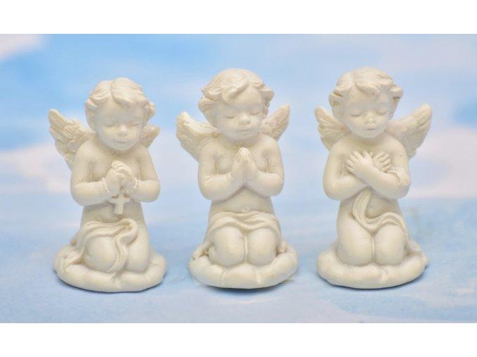 Barokní andílek mix druhů 3,5 cm