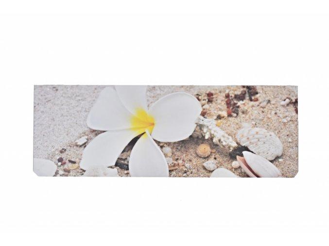 Obraz 98x34 cm orchidej 1.