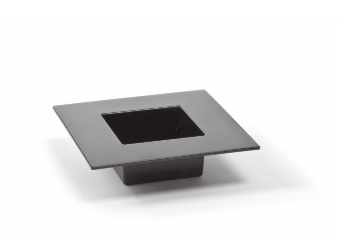 Ikebana 190 x 190 mm, černá
