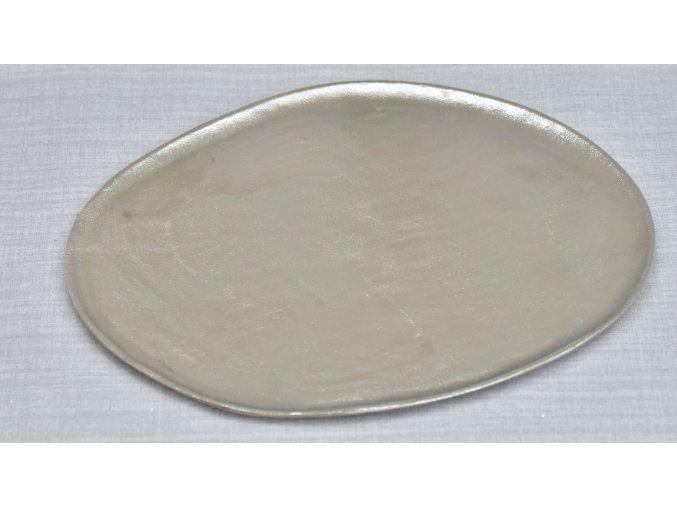 Hliníkový tác Alumi XL stříbrný