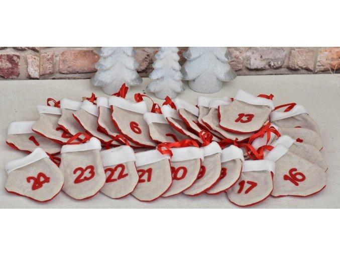 Adventní kalendář - palčáky
