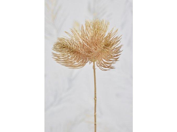 Bodlák zlatý s glitry 50 cm