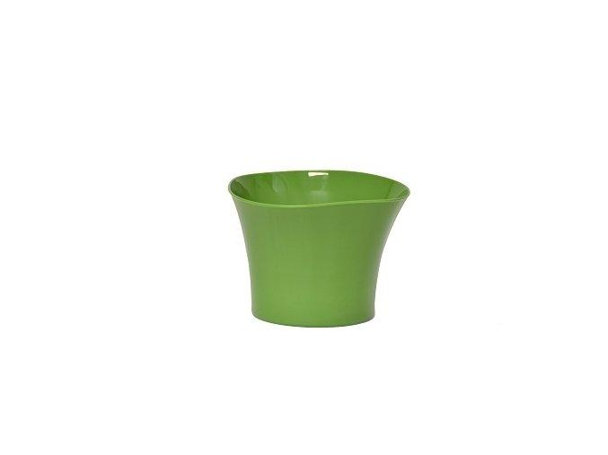 Plastový květináč Primulka zelený