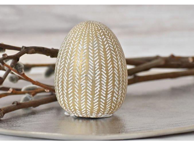 Dekorační vejce Gold M
