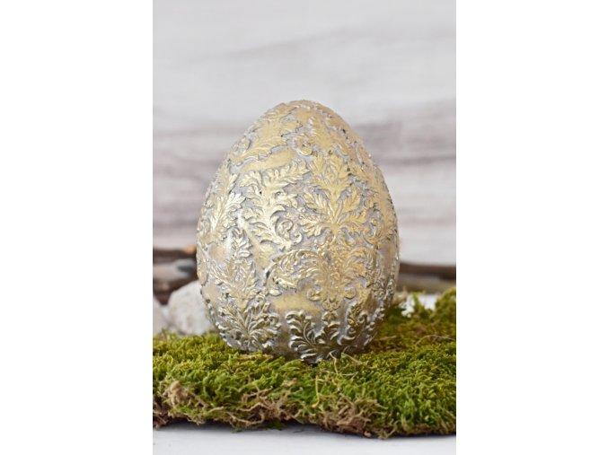Velikonoční vajíčko Ornament Gold XL