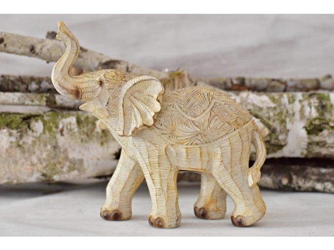 Dekorace slon Claire 19,5x8,5x20 cm