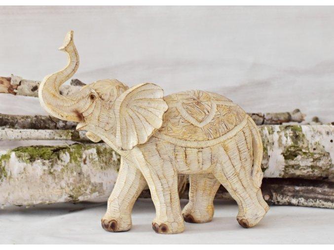 Dekorace slon Claire 24,5x12x27 cm