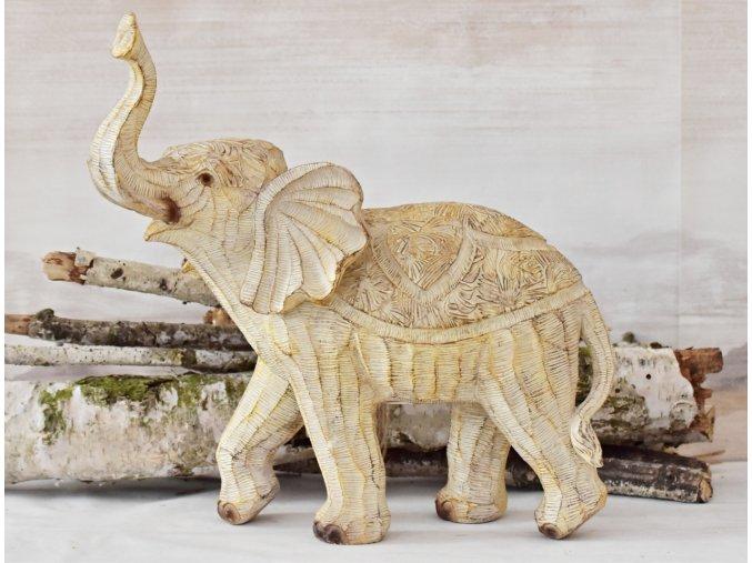 Dekorace slon Claire 35x18,5x33,5 cm