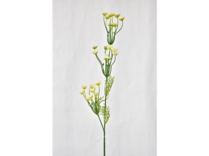 Umělá větvička luční květ 67 cm