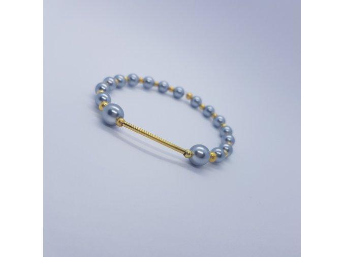 Náramek z voskových perel1