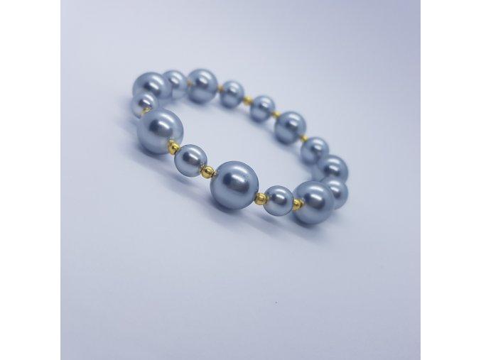 Náramek z voskových perel 21