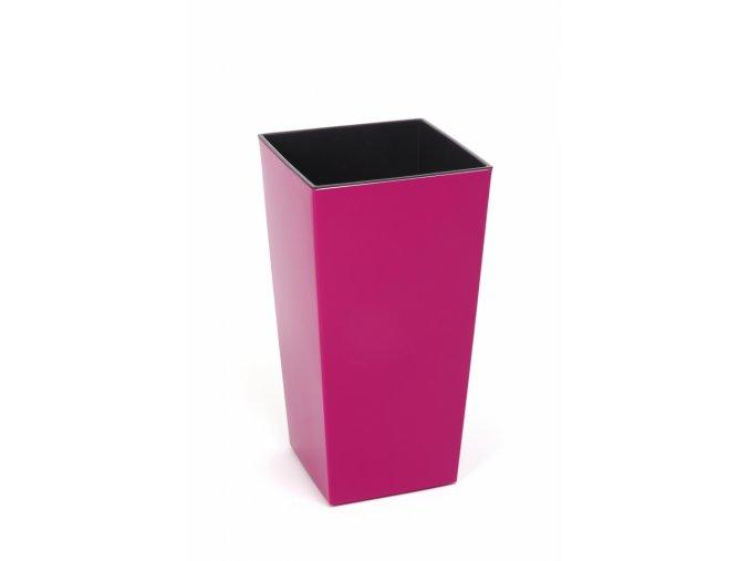 Plastový květináč Finezia 190x190 mm, fuchsie