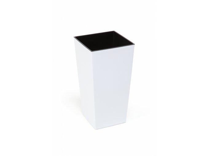 Plastový květináč Finezia 140x140 mm, bílý