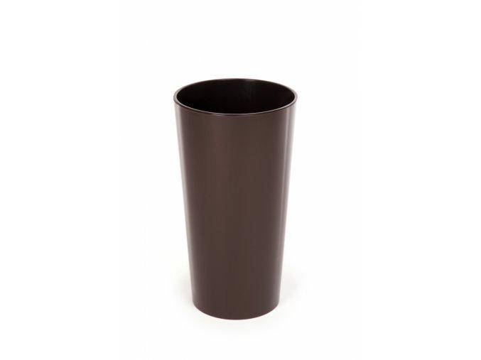 Plastový květináč Lilia 270 mm, mocca