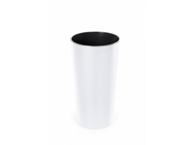 Plastový květináč Lilia 465 mm, bílý