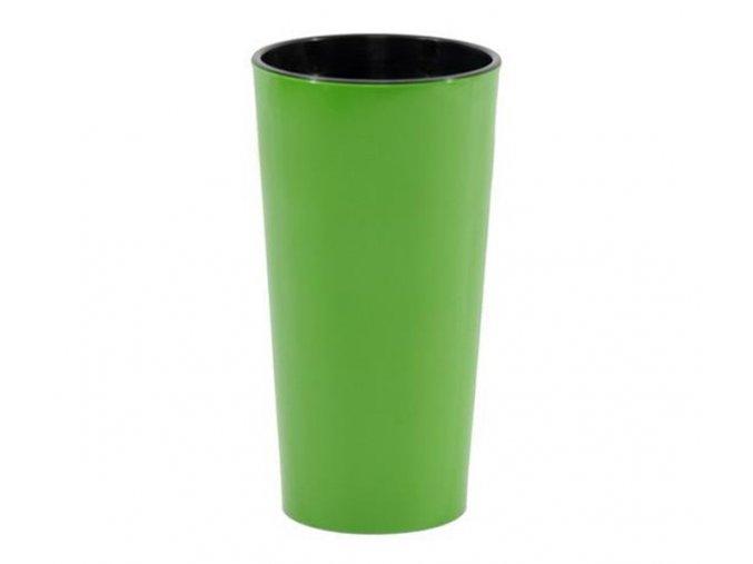 Plastový květináč Lilia 465 mm, zelený