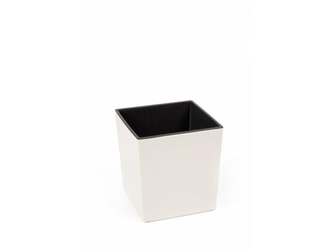 Plastový květináč Juka 250x250 mm, krémový