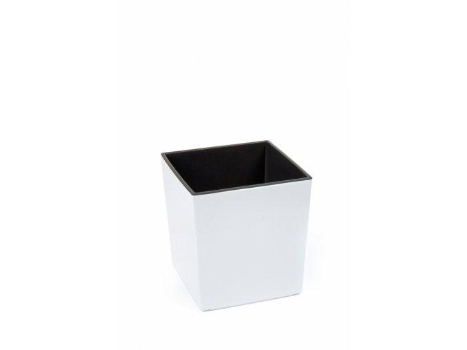 Plastový květináč Juka 300x300 mm, bílý