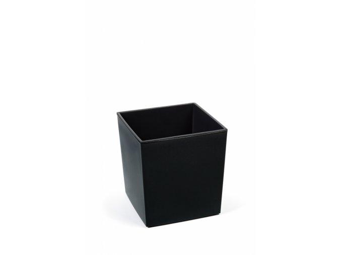 Plastový květináč Juka 300x300 mm, černý