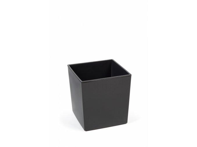 Plastový květináč Juka 300x300 mm, antracit