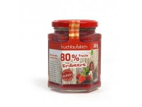 Marmeláda jahodová přislazená Sukrinem