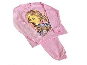 Dětské pyžamo vel.116 růžové, HANNAH MONTANA