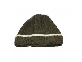 Chlapecká čepice zelená 1 ks