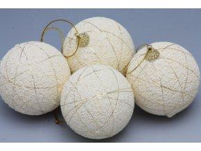 Vánoční polystyrénové baňky