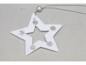 Hvězdička bílá