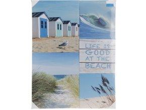 Obraz na zeď 5 dílů LIFE AT THE BEACH