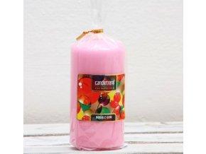 Svíčka válec Bubble Gum 11 cm