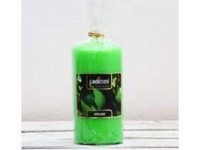 Svíčka válec Avocado 11 cm