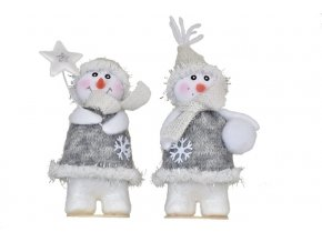 Vánoční figurka sněhulák