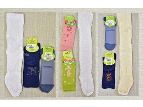Dětské punčocháče vel. 92-98 2 ks, ponožky 13-20 2 ks