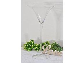 Skleněný pohár Martini 70 cm