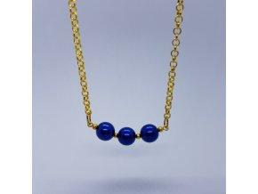 Náhrdelník 3 (bižuterní kov, voskové perle)1