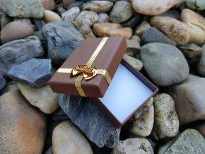 Luxusní dárková krabička (hnědá)1