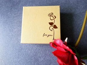 Luxusní dárková krabička Zlatá