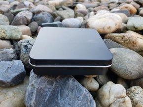 Luxusní kovová krabička (černá)1