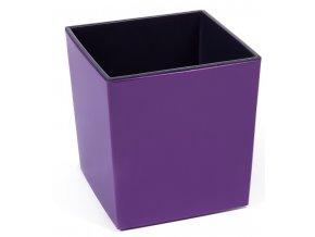 Plastový květináč Juka 250x250 mm, fialový