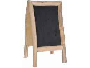 Popisovací tabule Teak Wood 70x40 cm