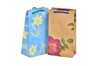 Dárková taška s potiskem, mix druhů
