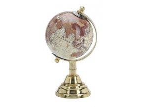 Otočný globus krémový