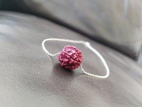Aghas Unisex náhrdelník ( pravá rudraksha)1