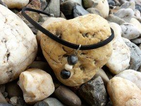 Goja Kožený náhrdelník (obojek)1