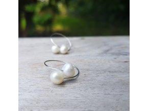 Perlení 4 Prstýnek (perly, ocel)1