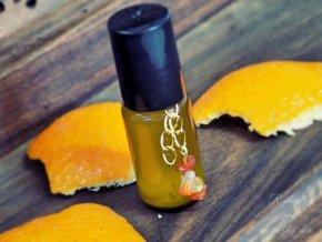 1328 spicy orange olejovy parfem s praskem z perel